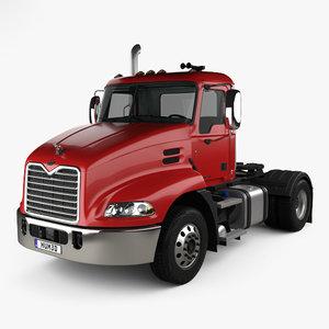 mack pinnacle tractor 3D model