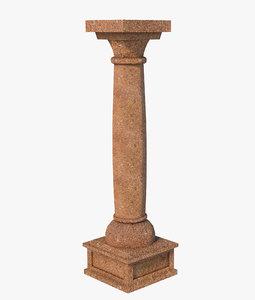 3D column classic t