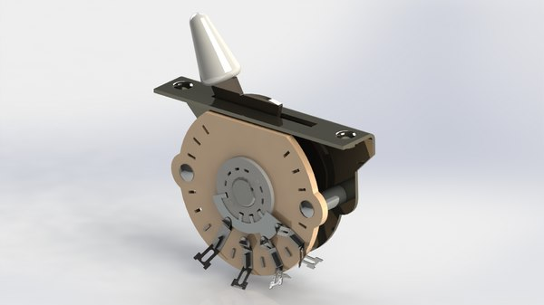 american standard strat 5-way 3D model