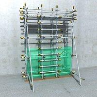 architectural scaffolding model
