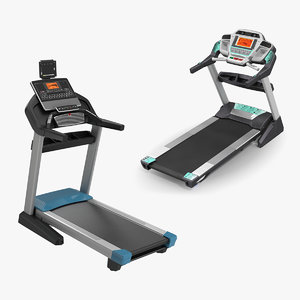 3D treadmills fitness exercise