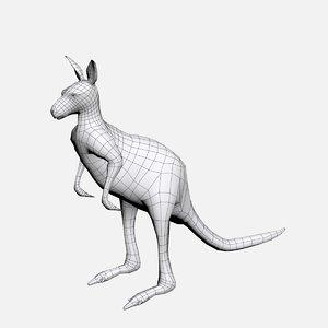 kangaroo base 3D