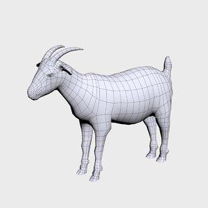 3D goat base