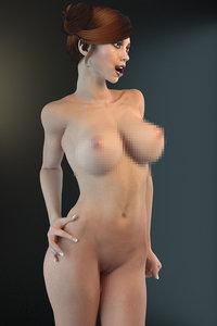 nude body 3D