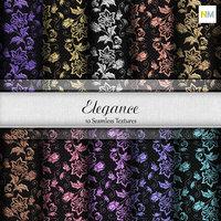 Elegance Flowers Seamless Textures