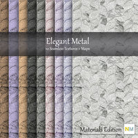 Elegant Metal Seamless Textures