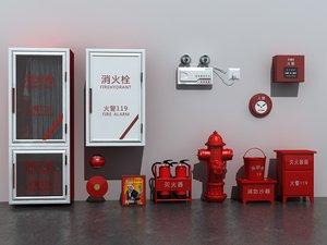 equipment set 3D model