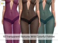 Evening Fishnet Seamless Textures