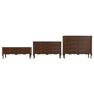 uvw chest drawers 3D