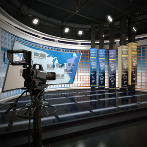 scene tv weather forecast 3D