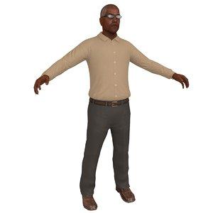 old man 2 3D model