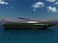 Futuristic Sport Yacht
