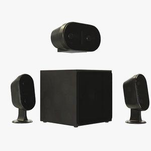 speaker generic 3D model