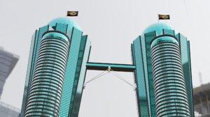 buildings blender flag 3D model