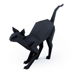 cat sphynx 3D model
