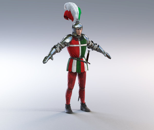 3D model scottish guard