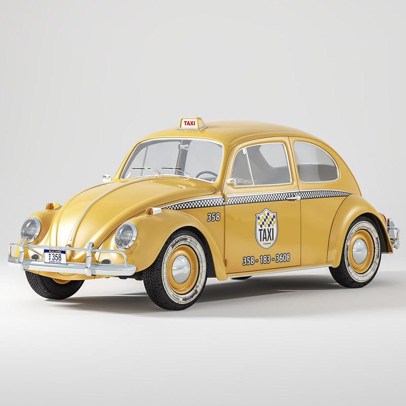 volkswagen beetle taxi model