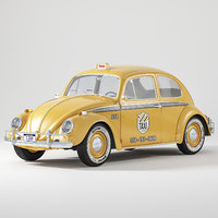 volkswagen beetle taxi model