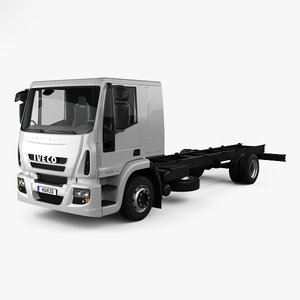3D iveco eurocargo chassis