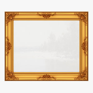 3D frame picture v20 model
