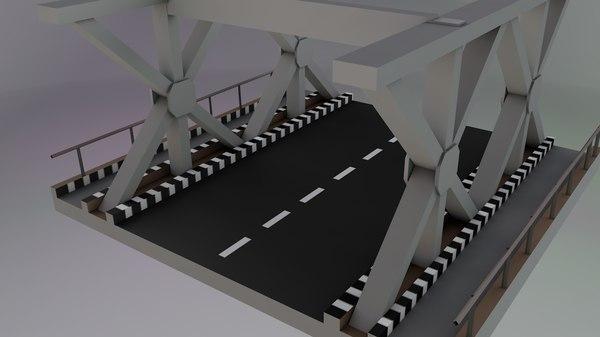 3D steel bridges