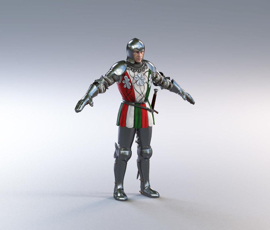 scottish guard 3D model