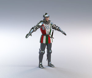 scottish guard 3D model