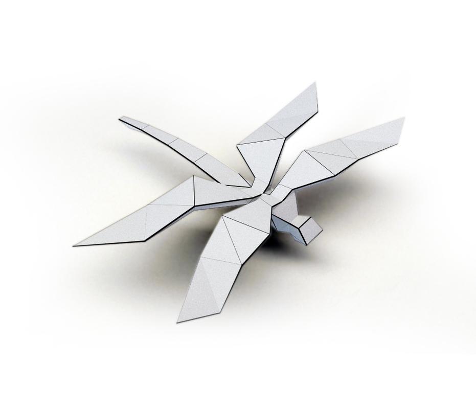 3D model dragonfly printing printer