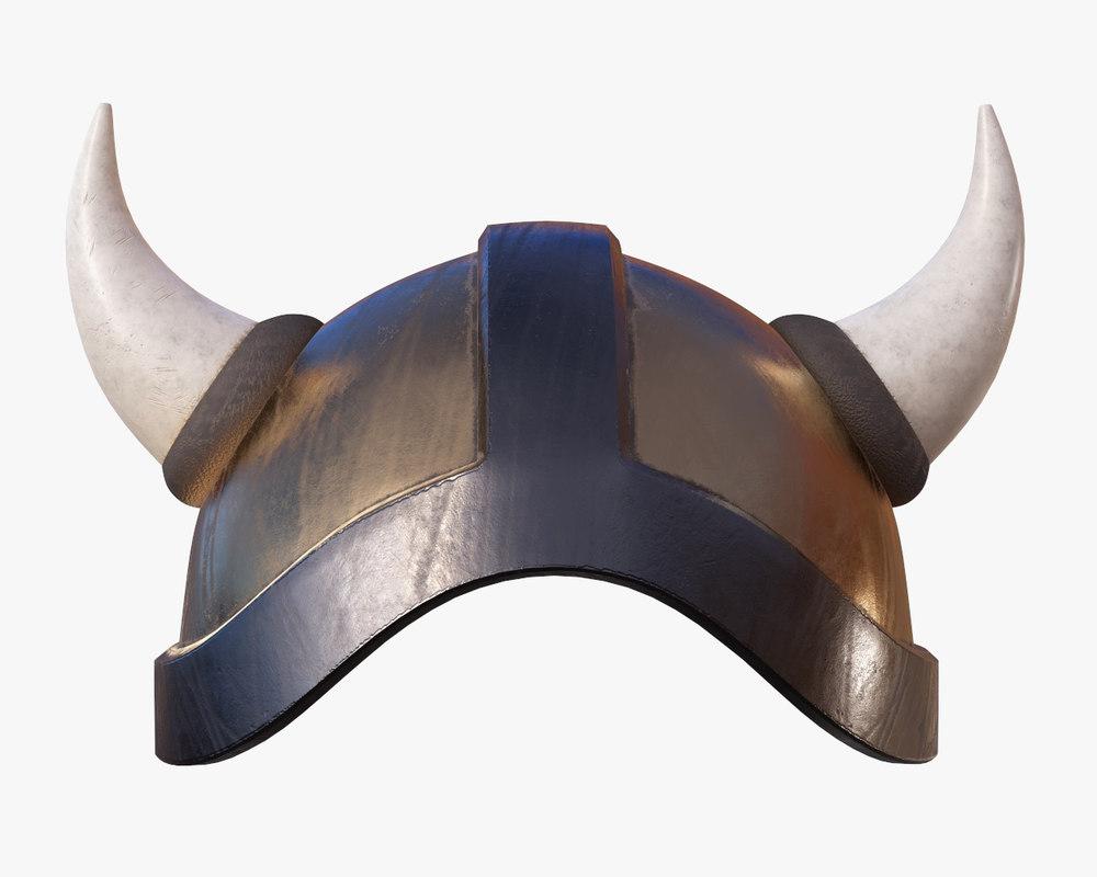 helmet war warrior 3D model