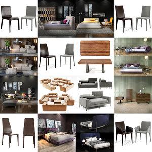 bonaldo furniture sofa 3D model