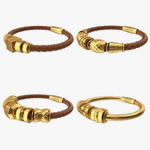 bracelets v2 3D model