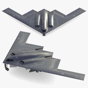 b-2 spirit northrop model