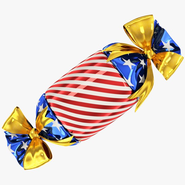 3D candy style gift model