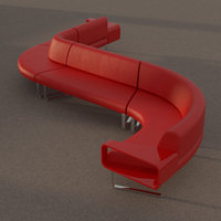 sofa furniture 3D