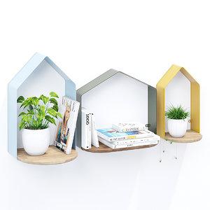 3D petite maison model
