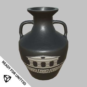 jar vase unity3d 3D