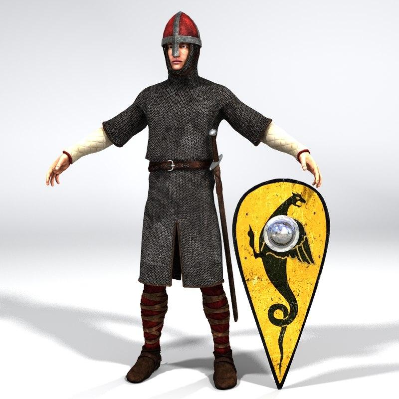 norman knight 3D model