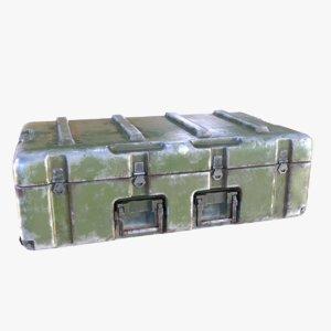 military chest 3D model