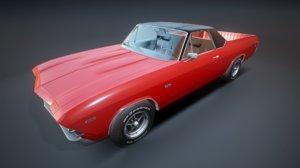 chevrolet el camino 1969 model