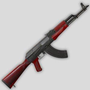 3D akm weapon