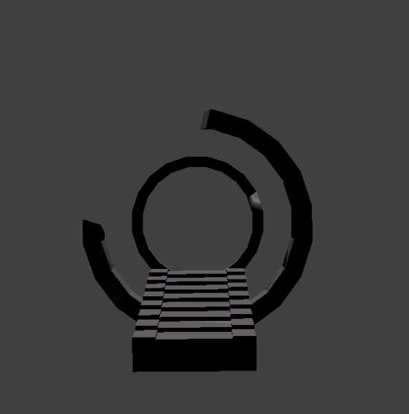 3D simple portal