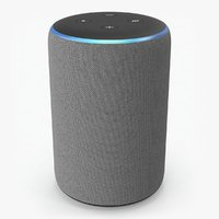 3D amazon echo 2rd generation model