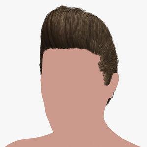 3D hairstyle 22 hair