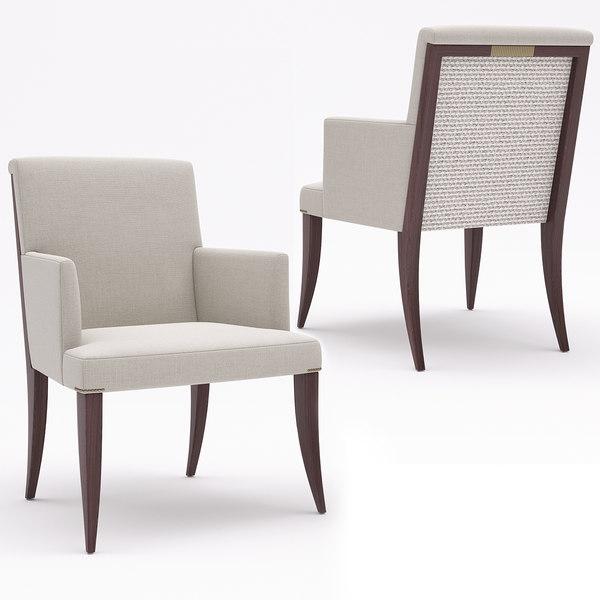 baker armchair 3D model