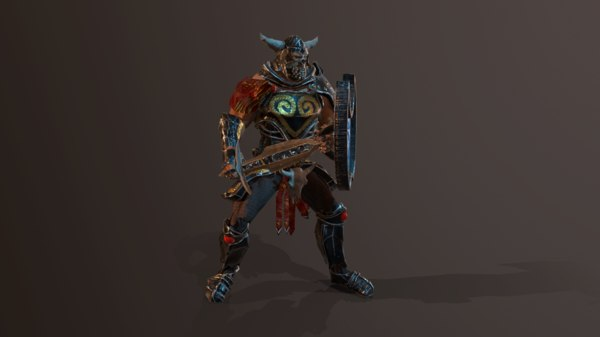 pbr animations armor model