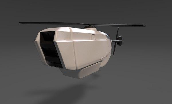 3D black hornet