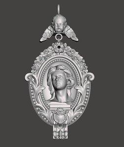 medalion 3D model