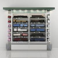 Dolce & Gabbana Perfume Shelving