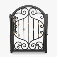 wrought iron gate 01 model