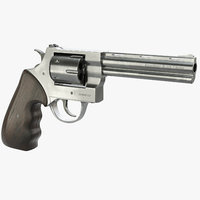 3D revolver gun